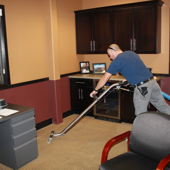 Janitorial Cleaning for Arapahoe Roofing and Sheet Metal Office
